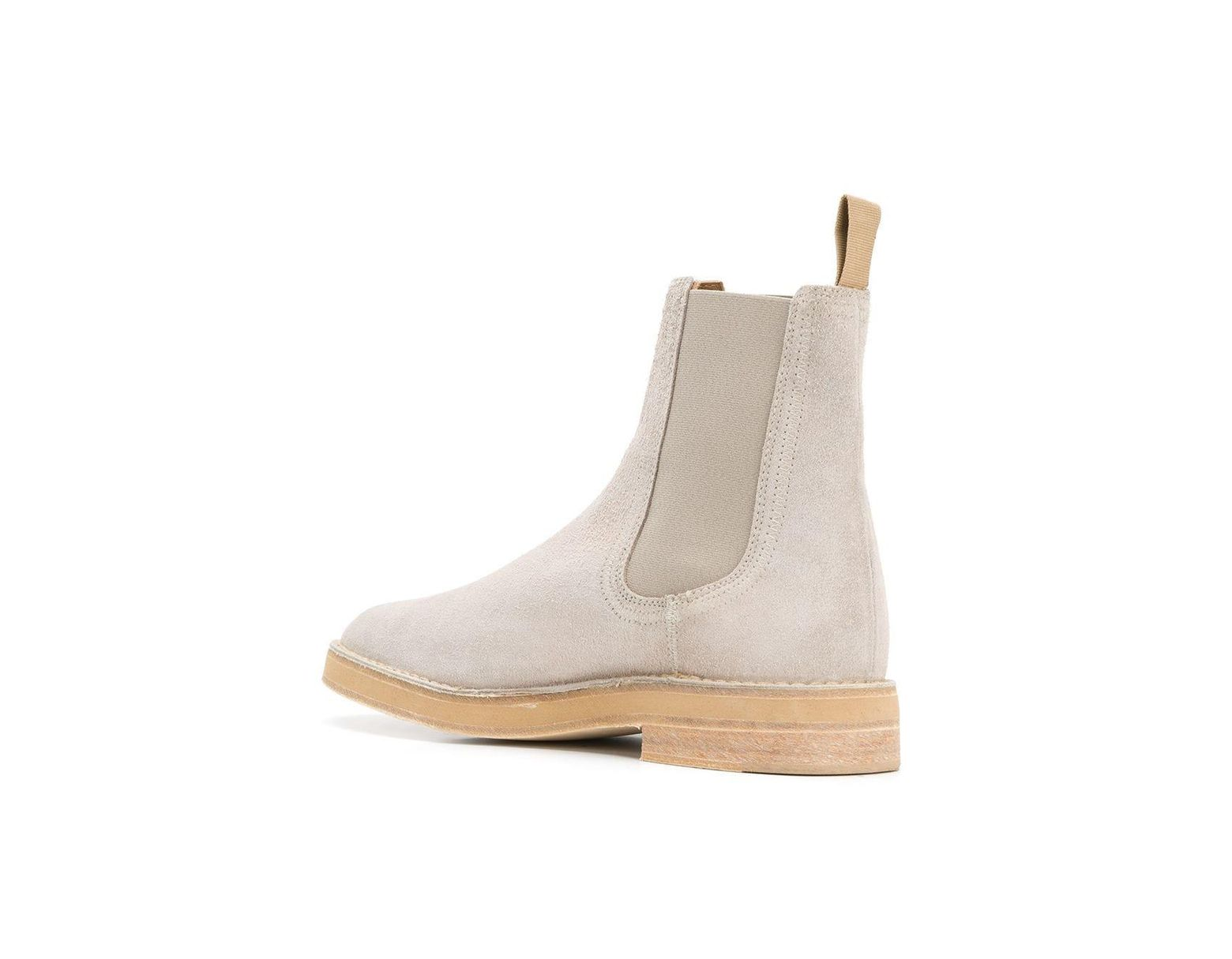 785d0d27fa55e Yeezy Adidas Season 6 Chelsea Boots in Gray for Men - Lyst