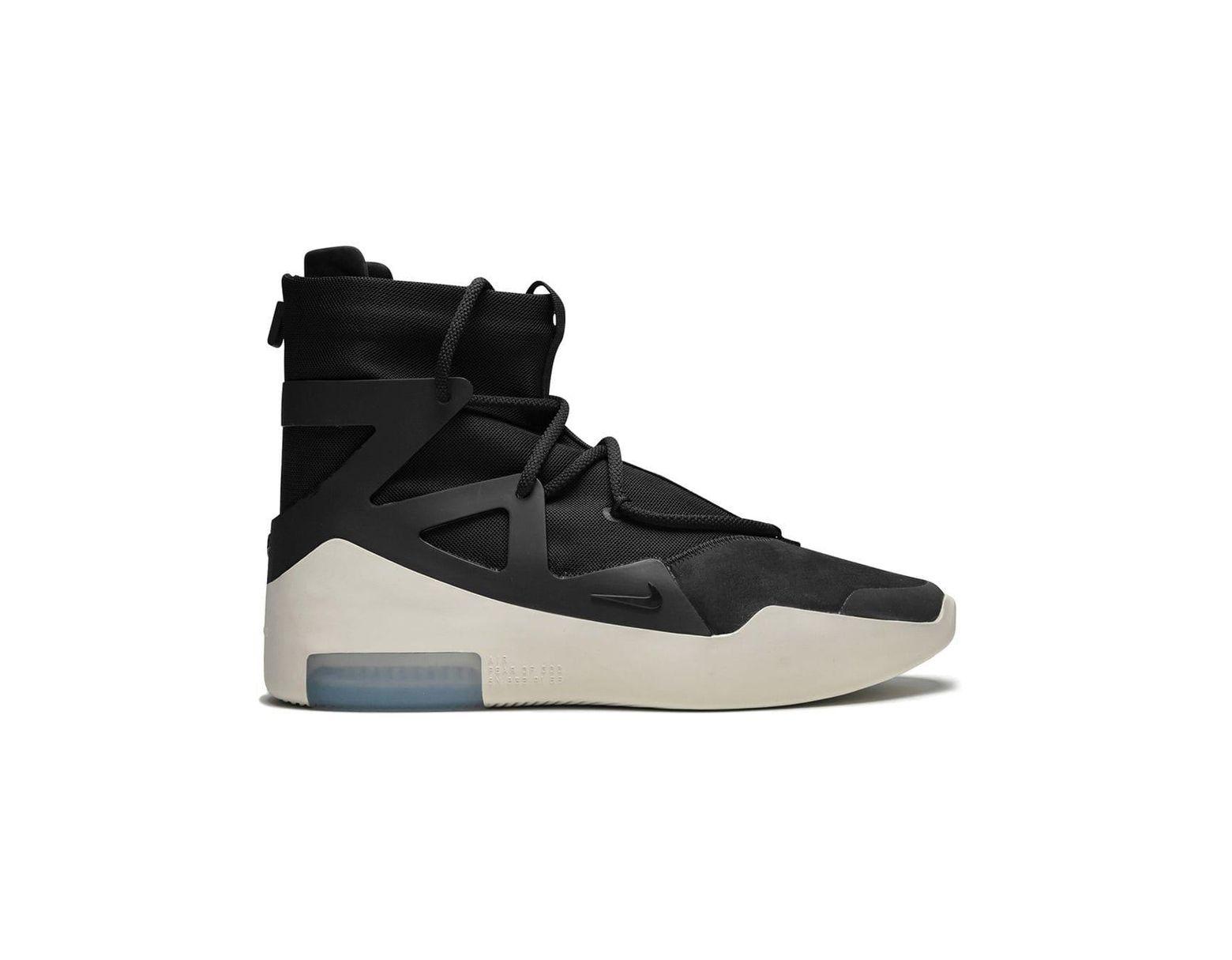 ff3ab58b Nike Air Fear Of God 1 Hi-top Sneakers in Black for Men - Lyst