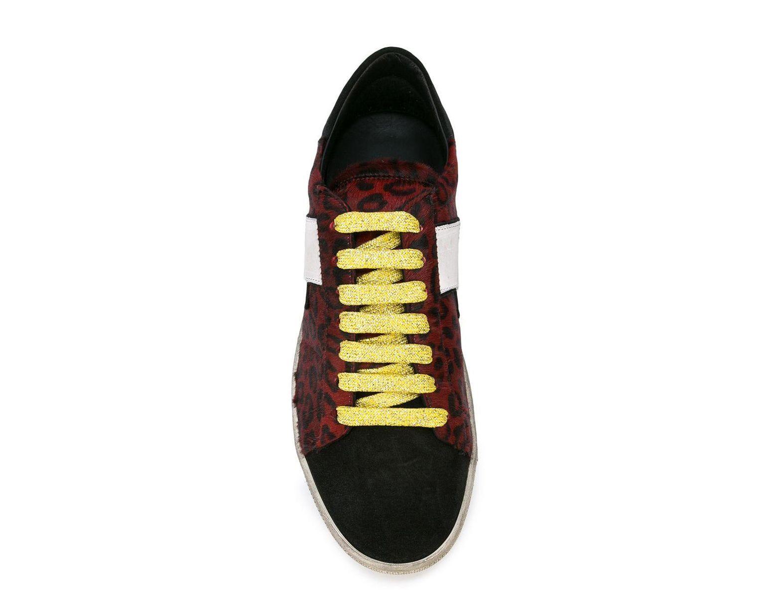 d24a0ba459ac Amiri Live Forever Leopard Viper Sneakers in Black for Men - Lyst