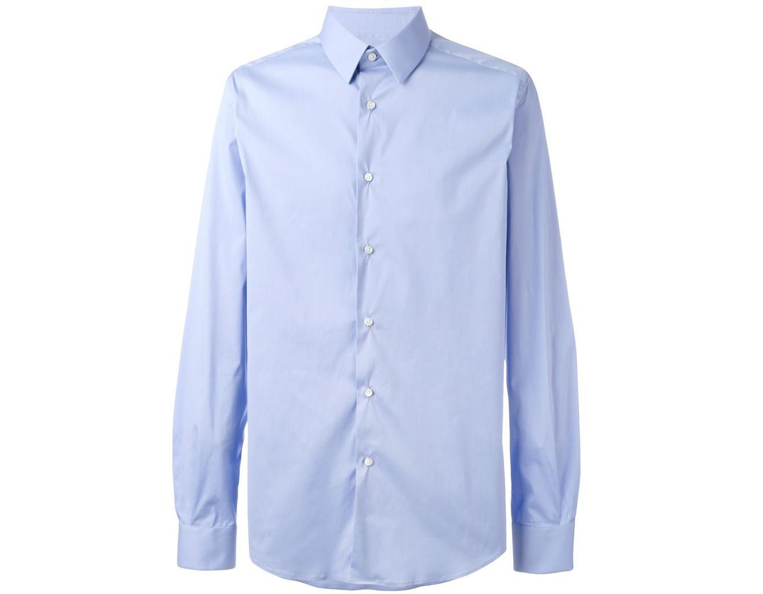 29c7101cd45767 Fashion Clinic Classic Buttoned Shirt in Blue for Men - Lyst