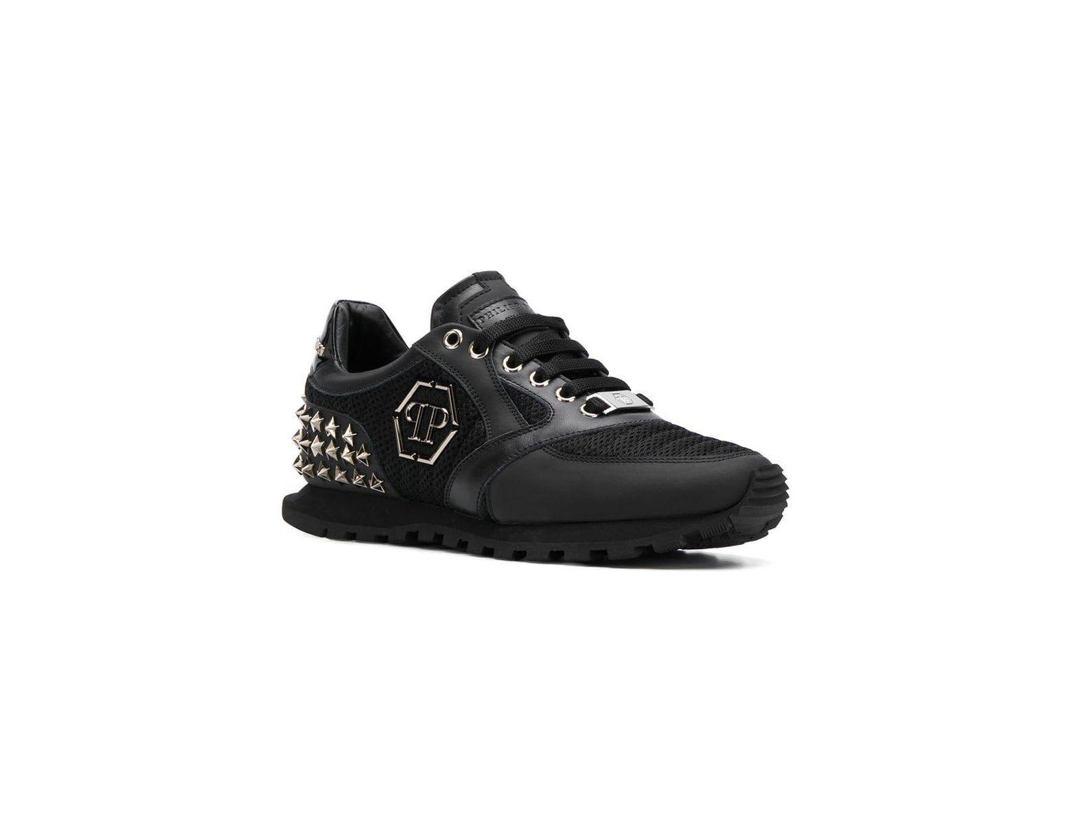 Philipp Wayne Lyst Sneakers Runner Black Plein In 7gYvfb6y