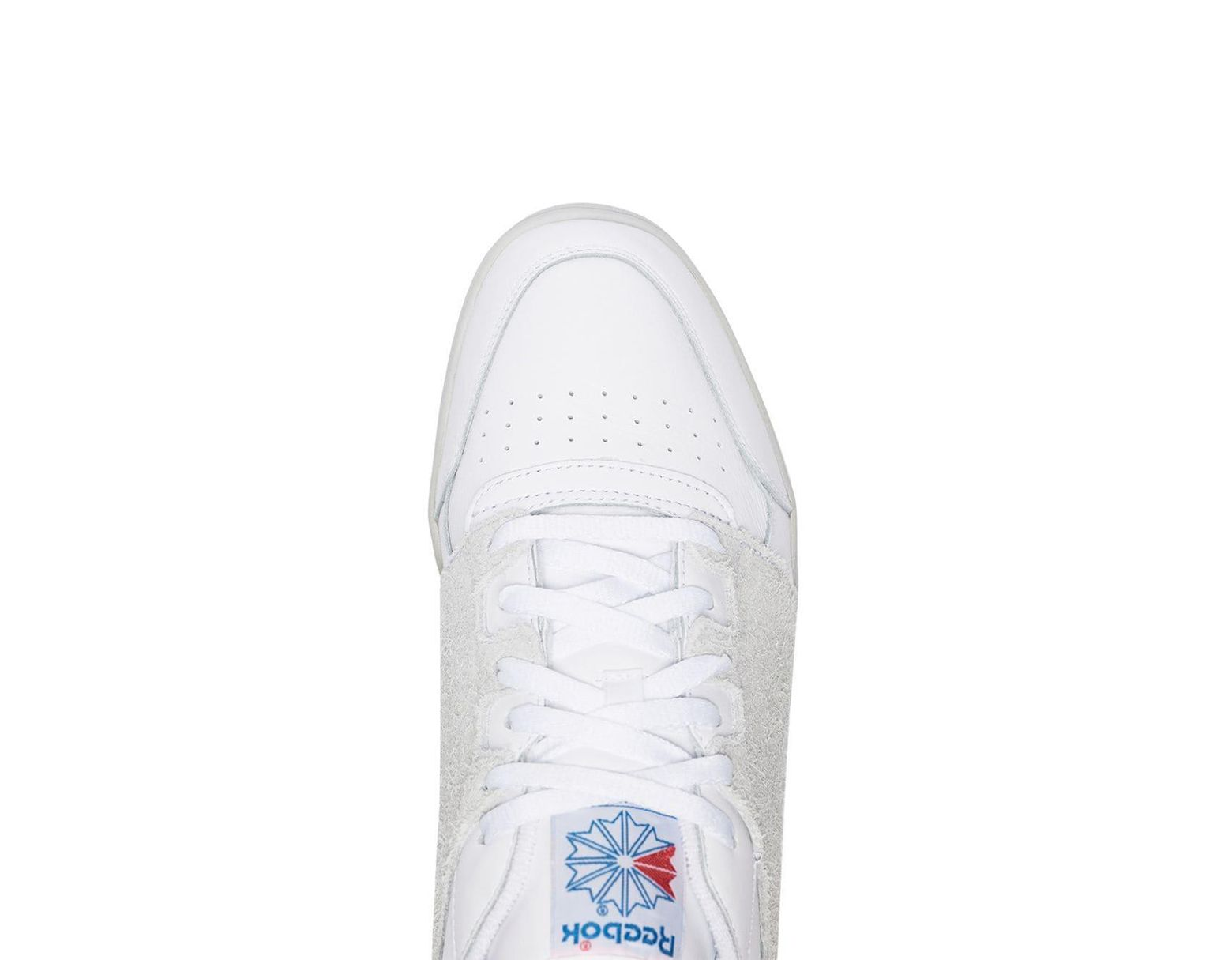 7a4d2ce1c Reebok White X Nepenthes Workout Plus Suede Panel Leather Low-top Sneakers  in White for Men - Save 43% - Lyst