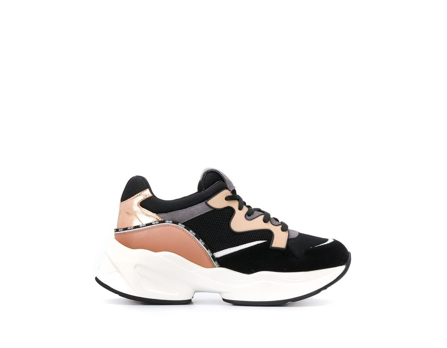 detailed look 42c88 1e395 Men's Black Low-top Running Sneakers