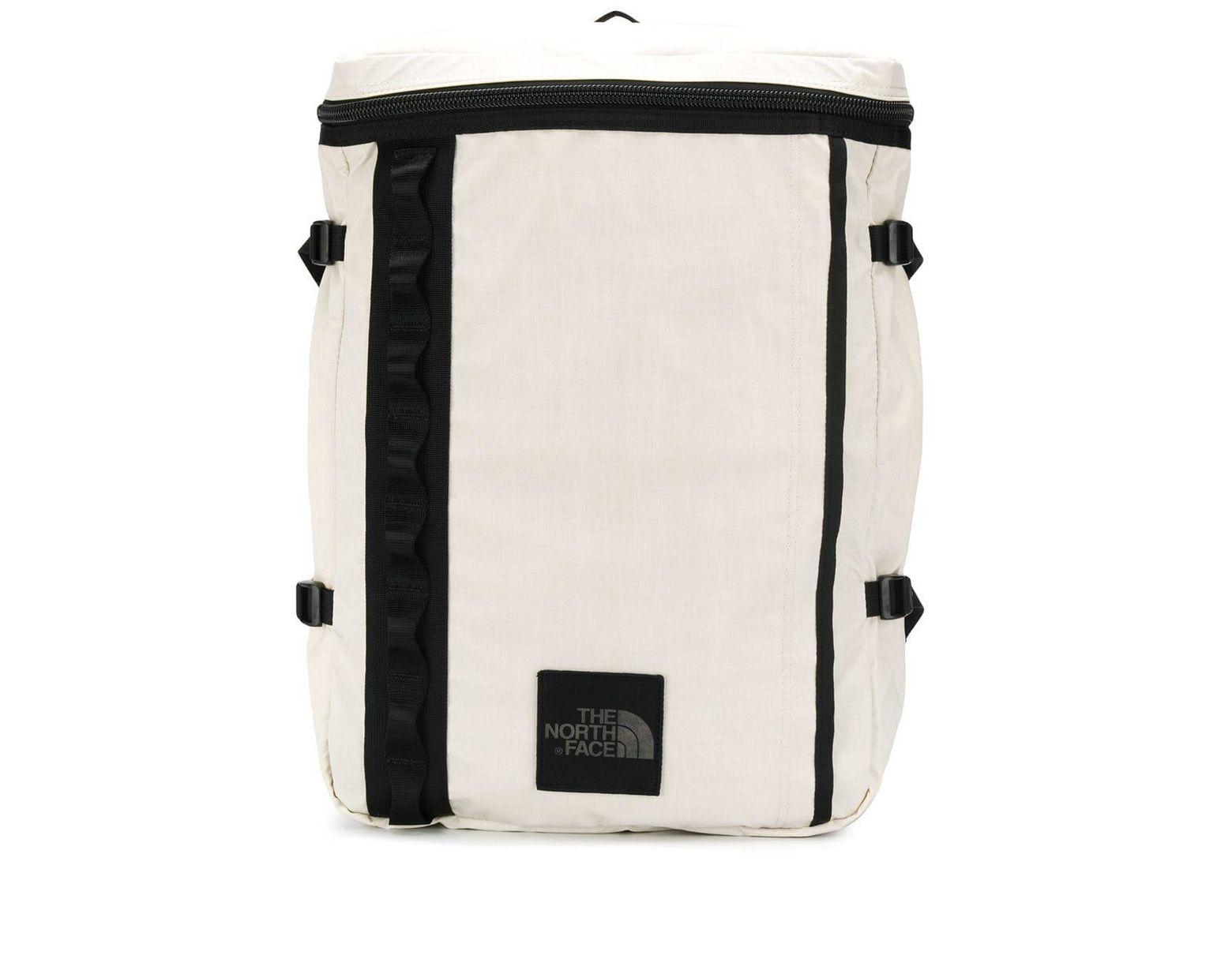 0b10bfddaf Men's White Contrast Trim Backpack