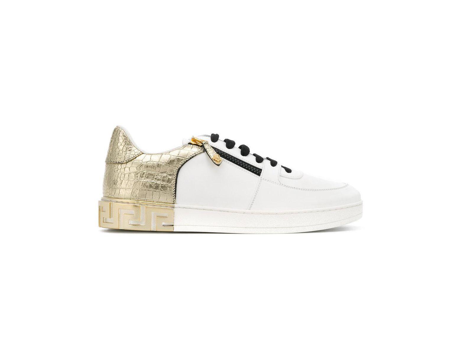 2170b7a5b9435 Men's White Eros-greek Key Sneakers