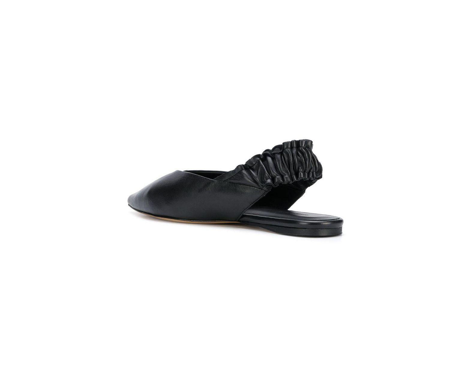 975247404 Isabel Marant Linta Slingback Slippers in Black - Save 58% - Lyst