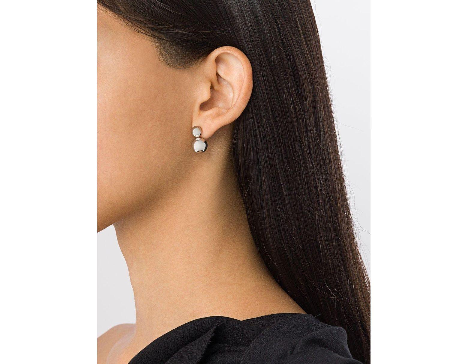 bad184a92 Georg Jensen Moonlight Grapes Earrings in Metallic - Lyst