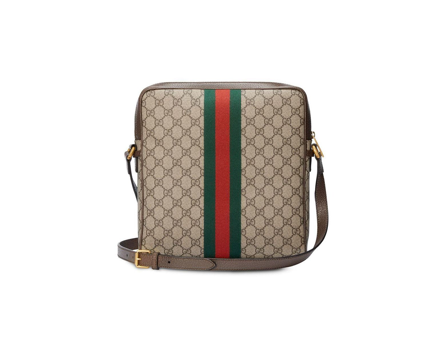 7a75037f5 Gucci Ophidia GG Medium Messenger Bag for Men - Save 19% - Lyst