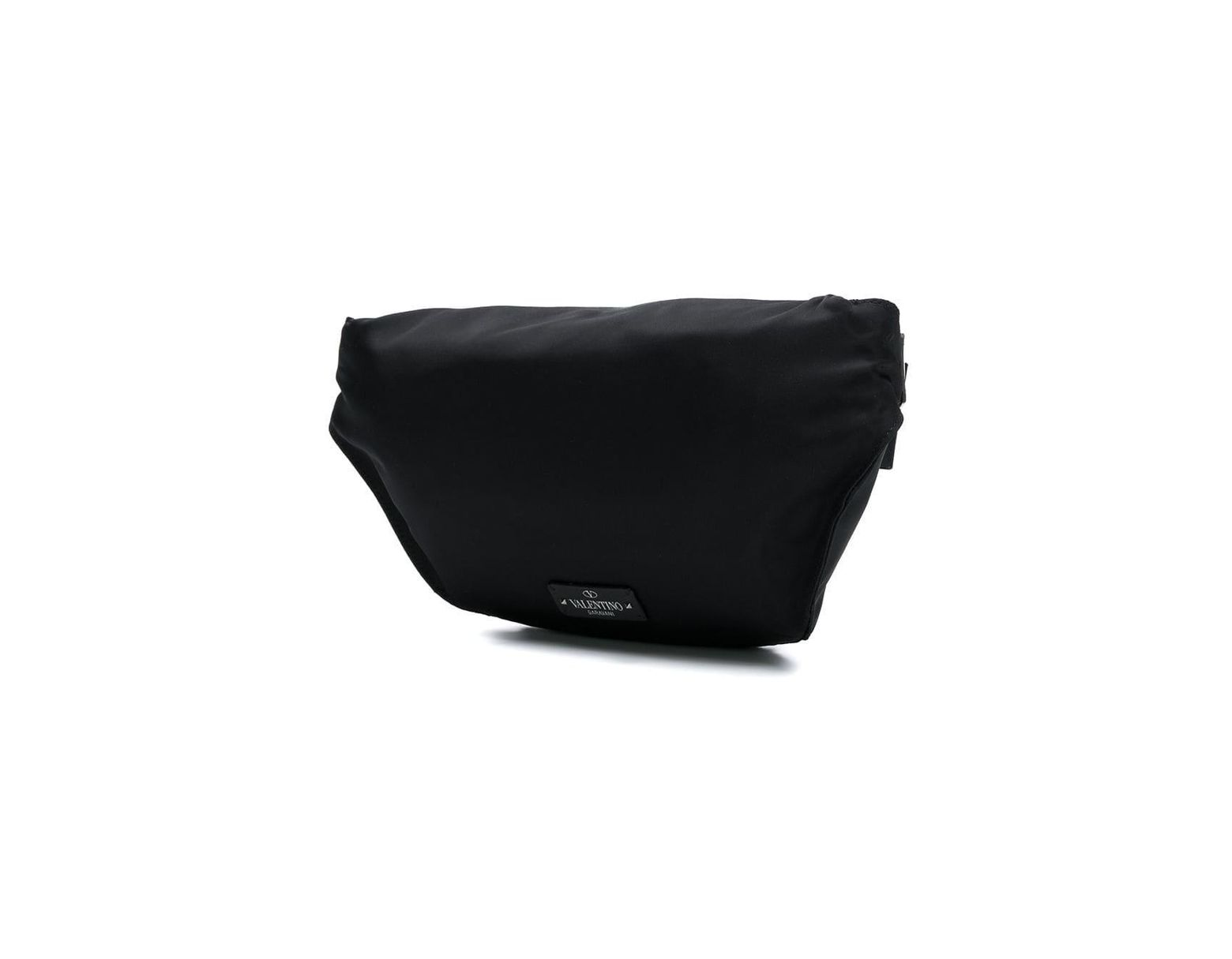 e2958add351a5 Valentino Garavani Vltn Rockstud Belt Bag in Black for Men - Lyst