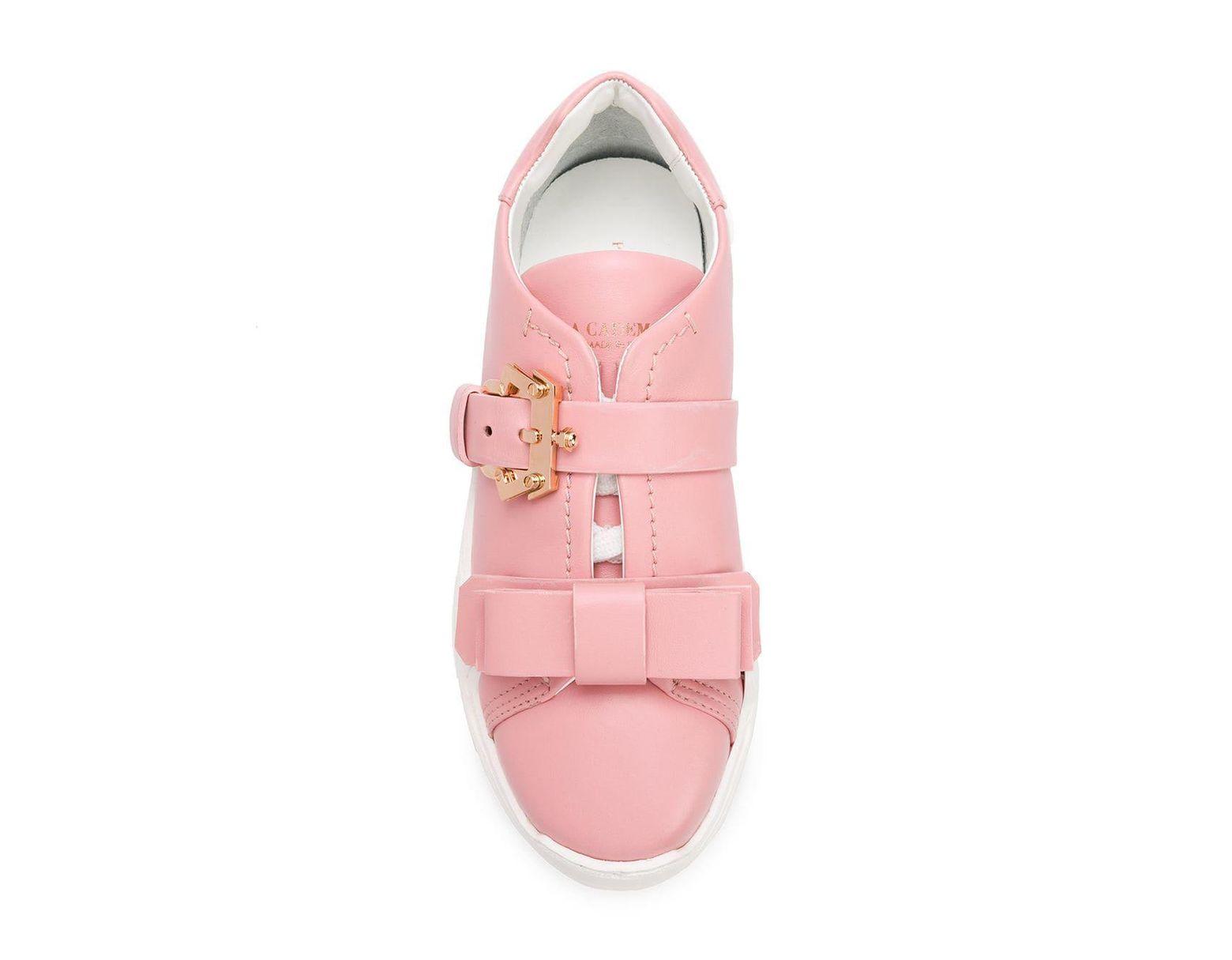 Mit In Damen 'yokoo' Sneakers Pink Schnalle TlFJ1u3Kc