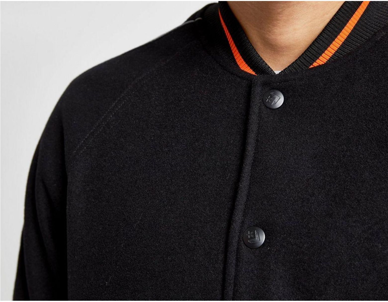 c78a86ae5 Men's Black X Vince Staples Varsity Jacket