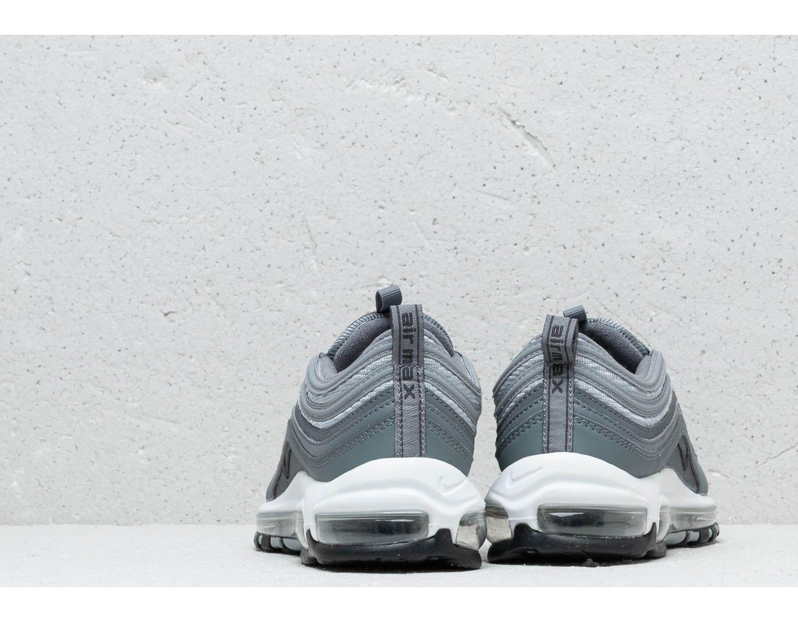 d60e18d787371 Men's Gray Air Max 97 Essential Cool Grey/ Wolf Grey-anthracite-white