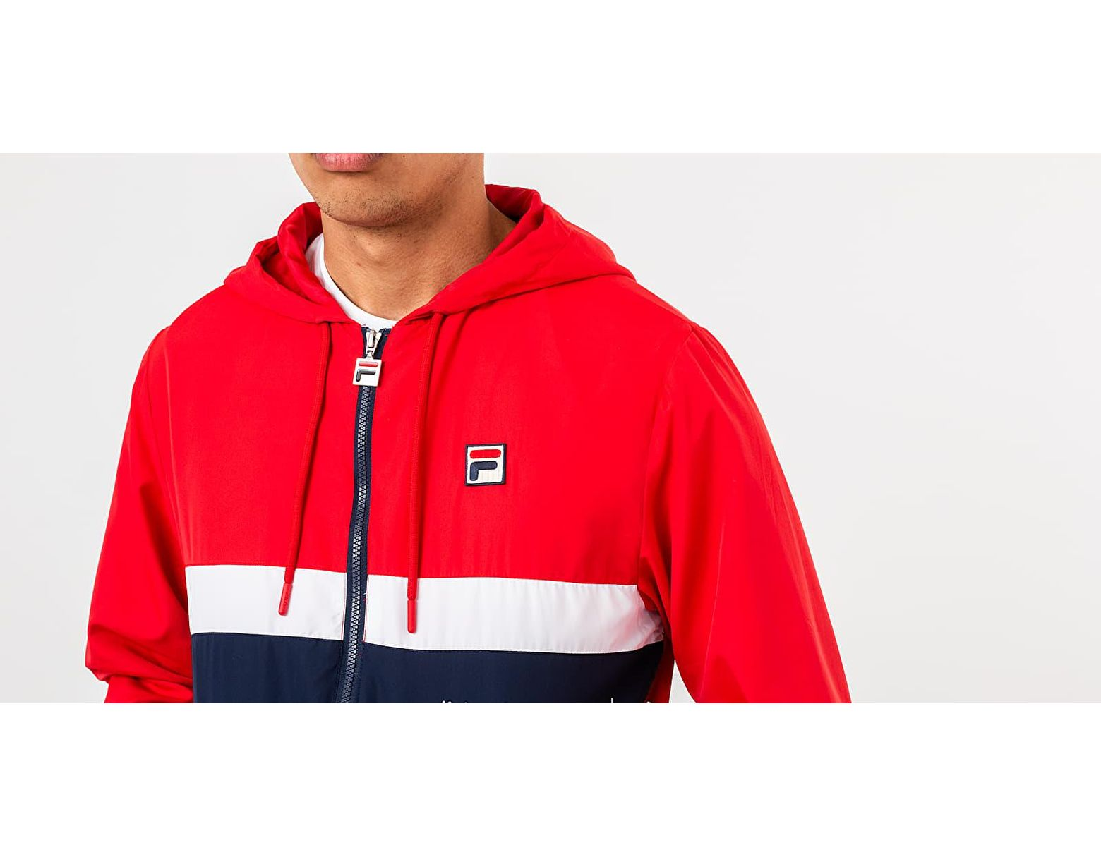 1d2896b82 Men's Ambrose Color Block Jacket Chinese Red