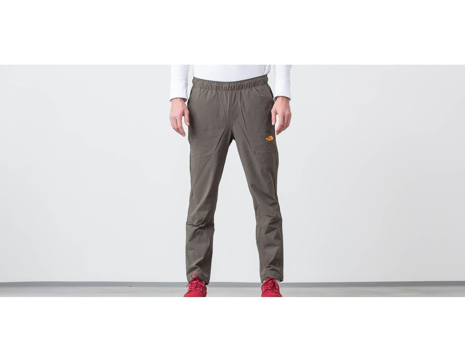 f09062c38 The North Face Tech Woven Pants New Taupe Green/ Zinnia Orange for ...