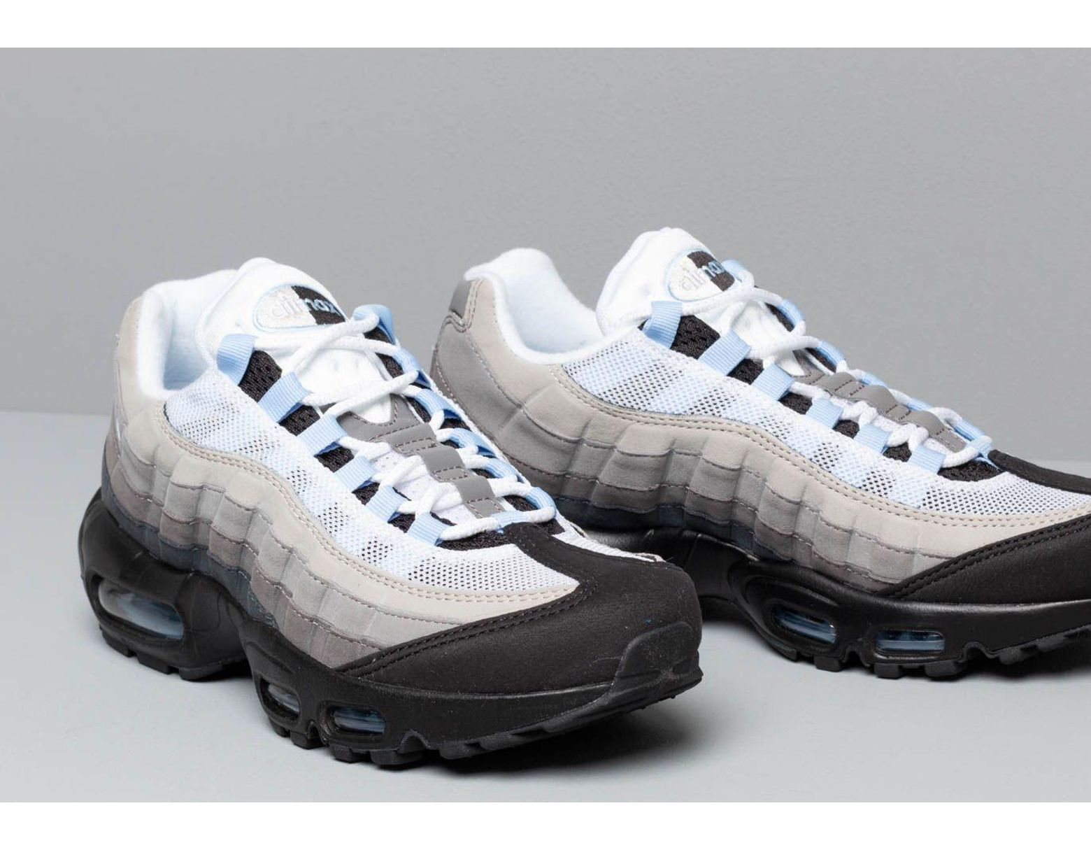 half off 6b9e4 7195b Nike Air Max 95 Black  Aluminum-anthracite in Black for Men - Save 2% - Lyst