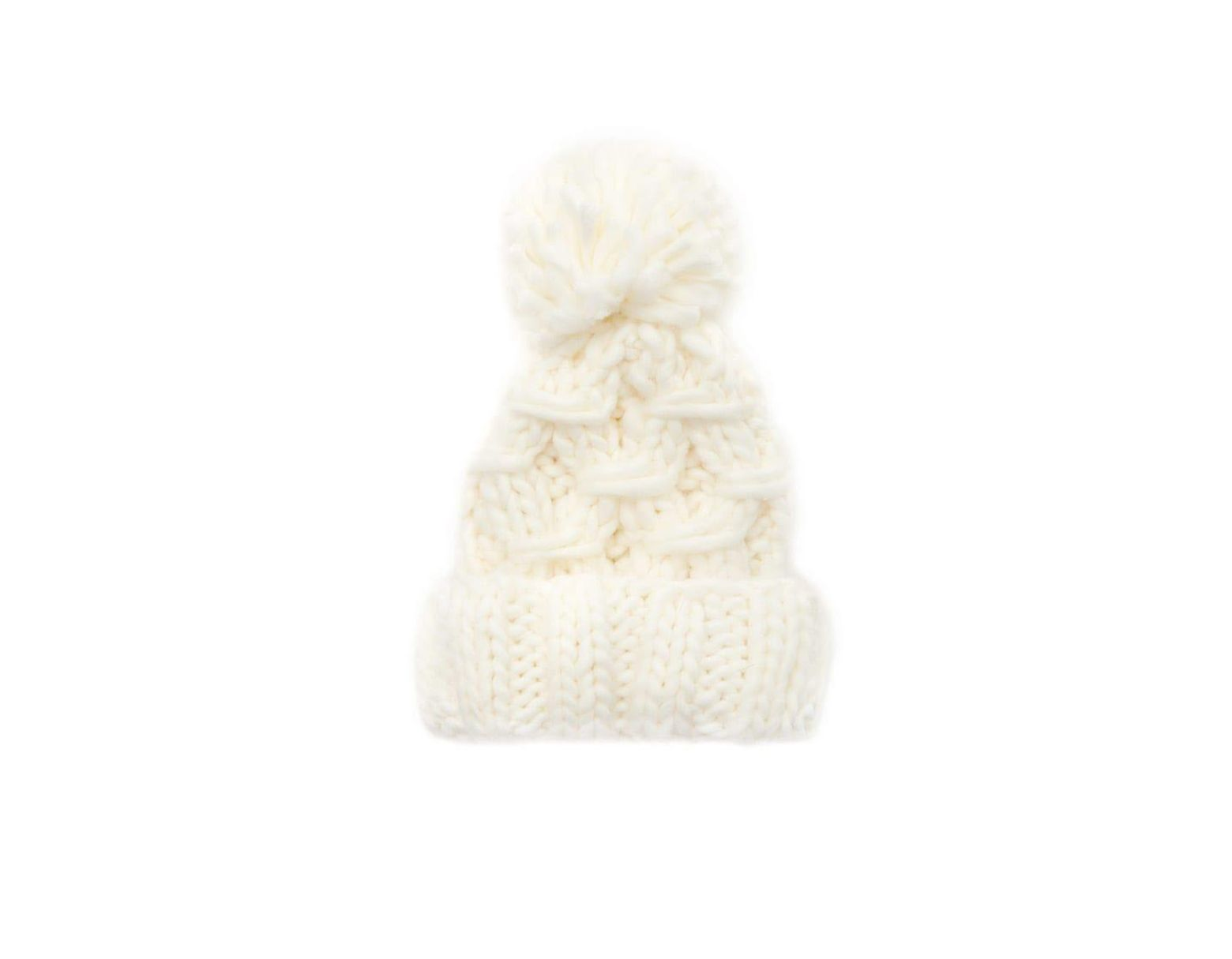 9f78aaa8c Forever 21 Chunky Cable-knit Beanie Hat - Lyst