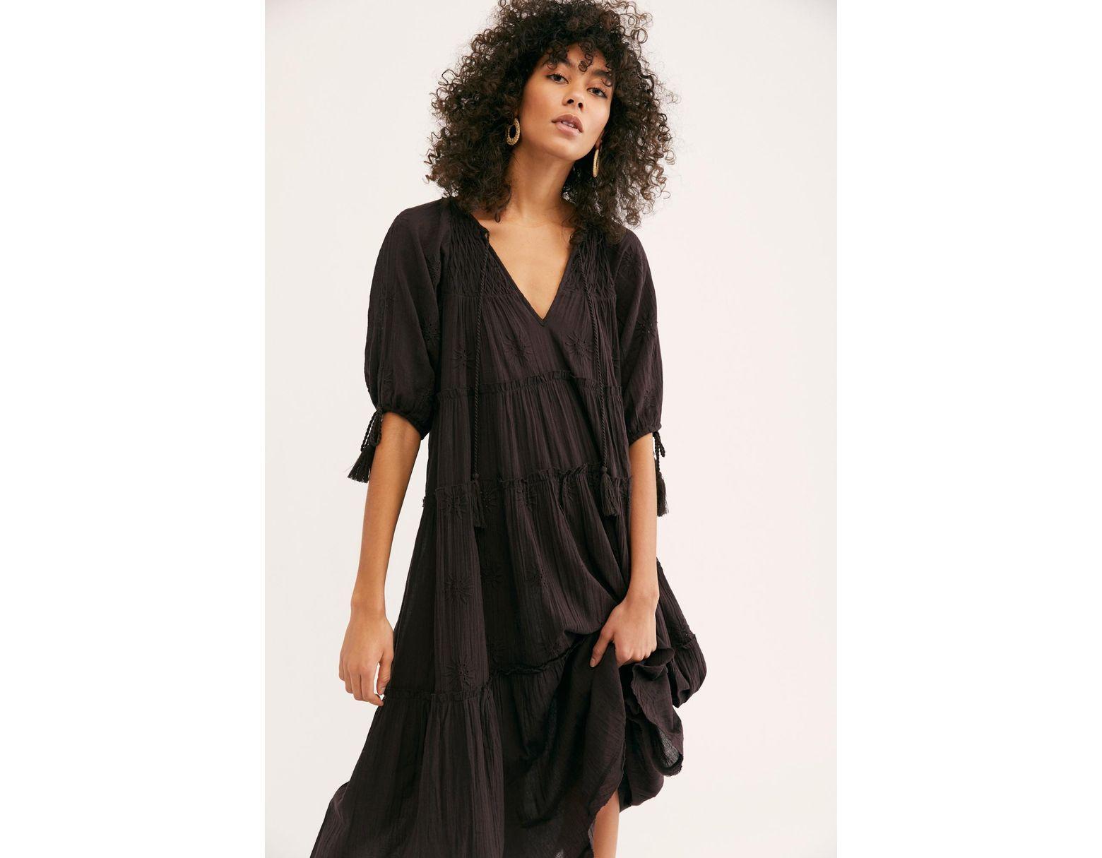 596924c978e8b Women's Brown Celestial Skies Midi Dress