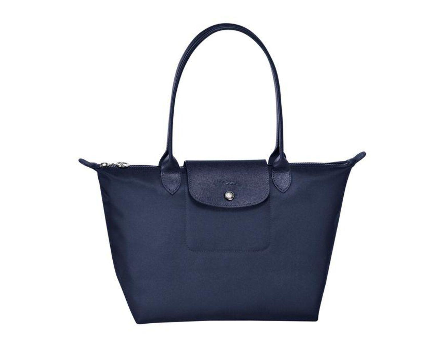 Sac shopping S Le Pliage Néo femme de coloris bleu