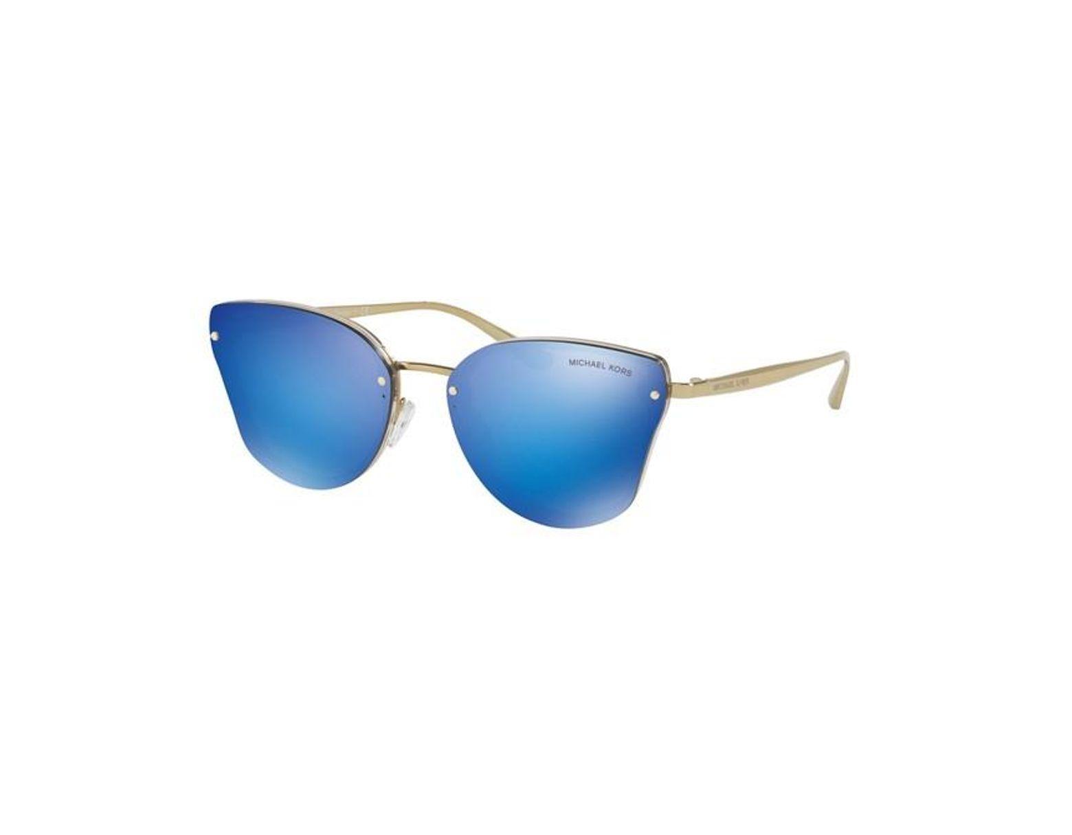 Lunettes Mk2068 Soleil Femme Bleu Coloris Sanibel De UpVSzM