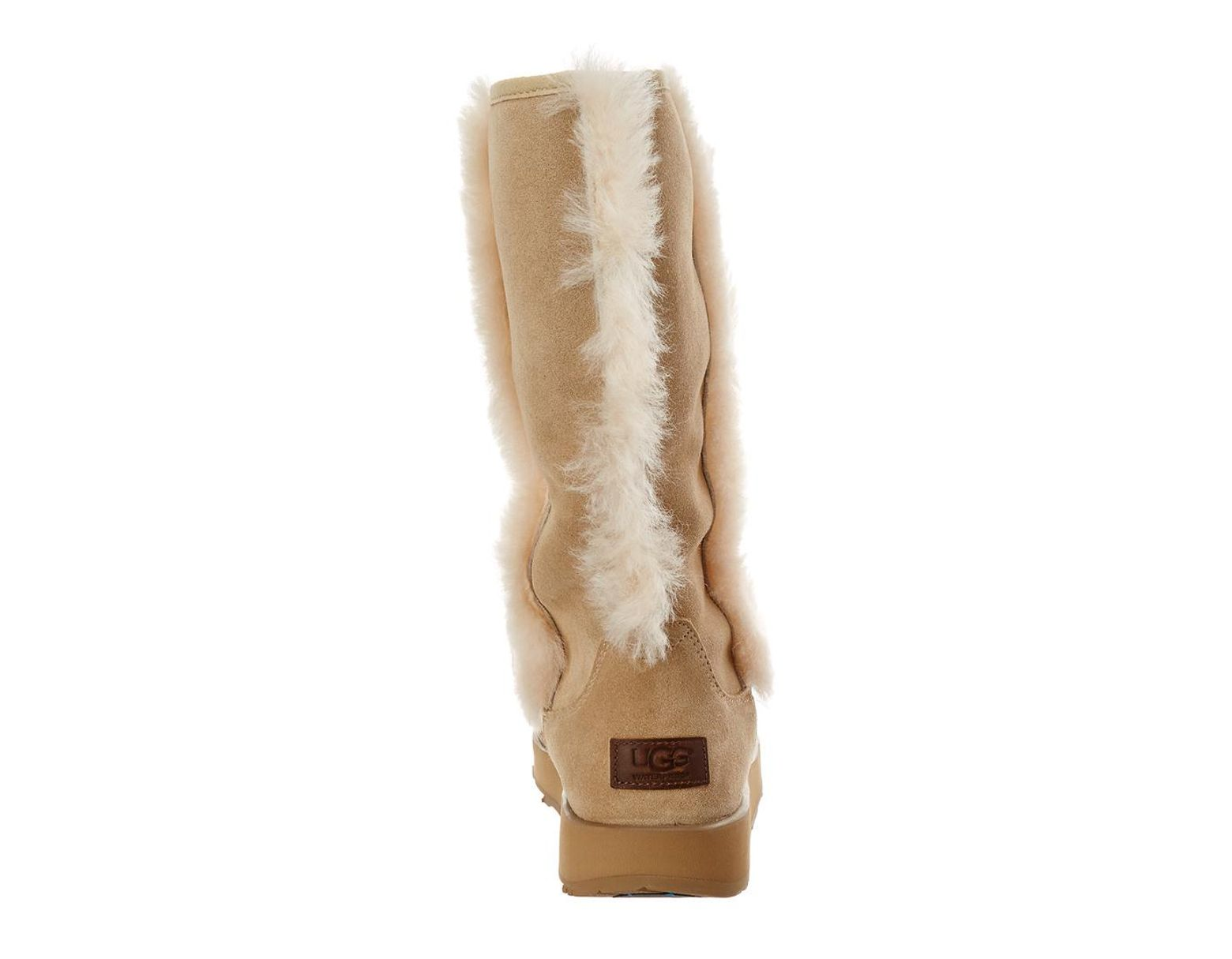 6ed427a0256 Women's Natural Sundance Waterproof Twinface Sheepskin Boot