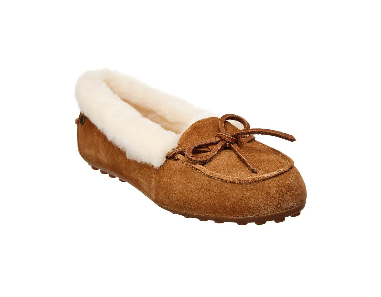 5a09c1d0874 Brown Women's Solana Suede Loafer Slipper