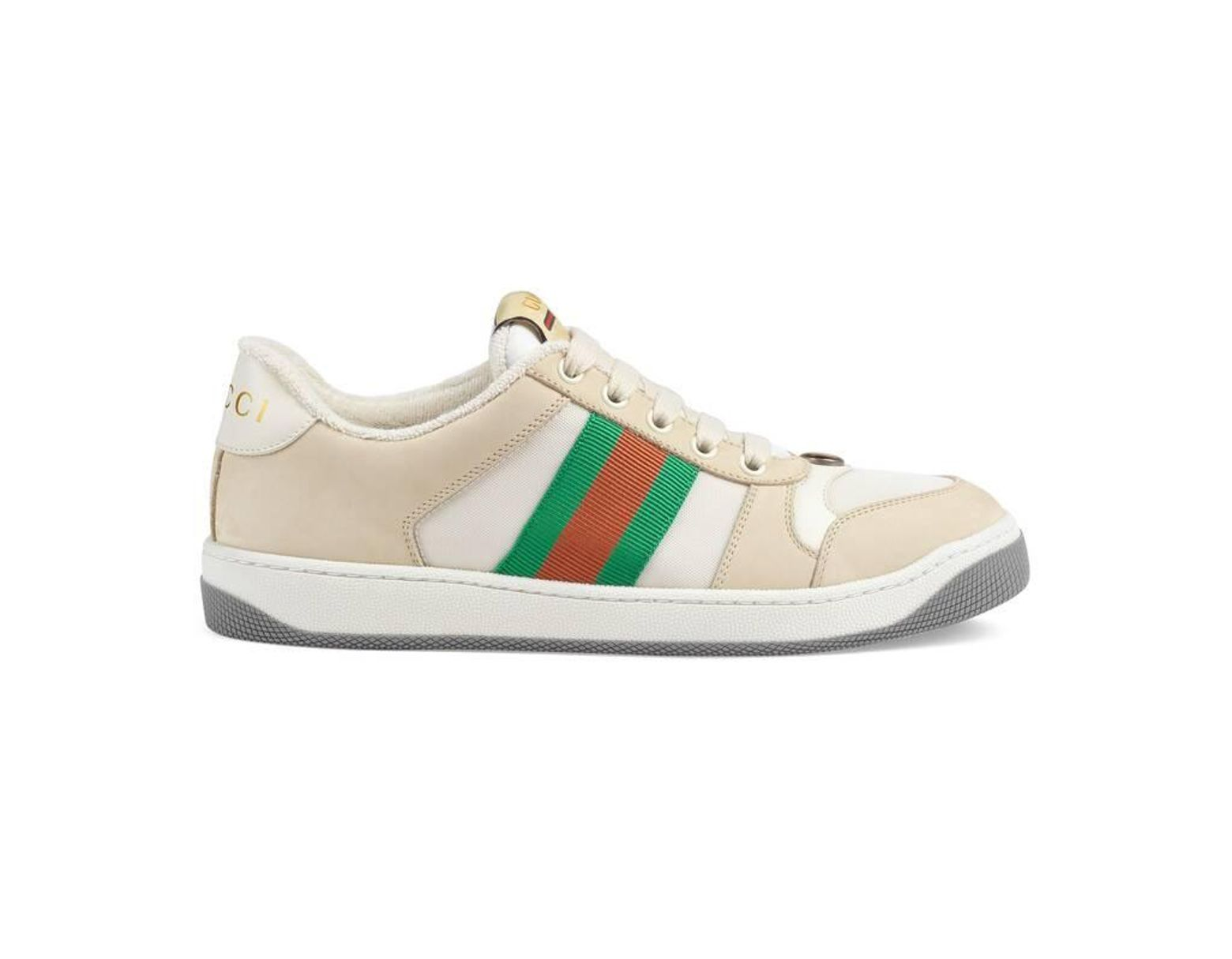 8fef4b2d99 White Women's Screener Leather Sneaker