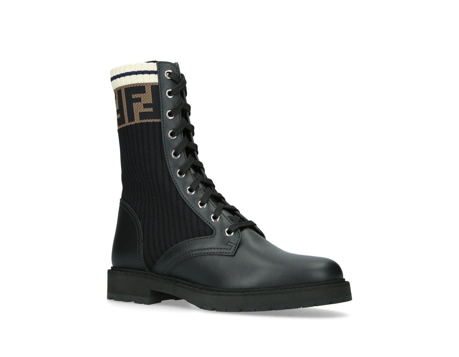 3ced7755 Women's Black Rockoko Combat Boots
