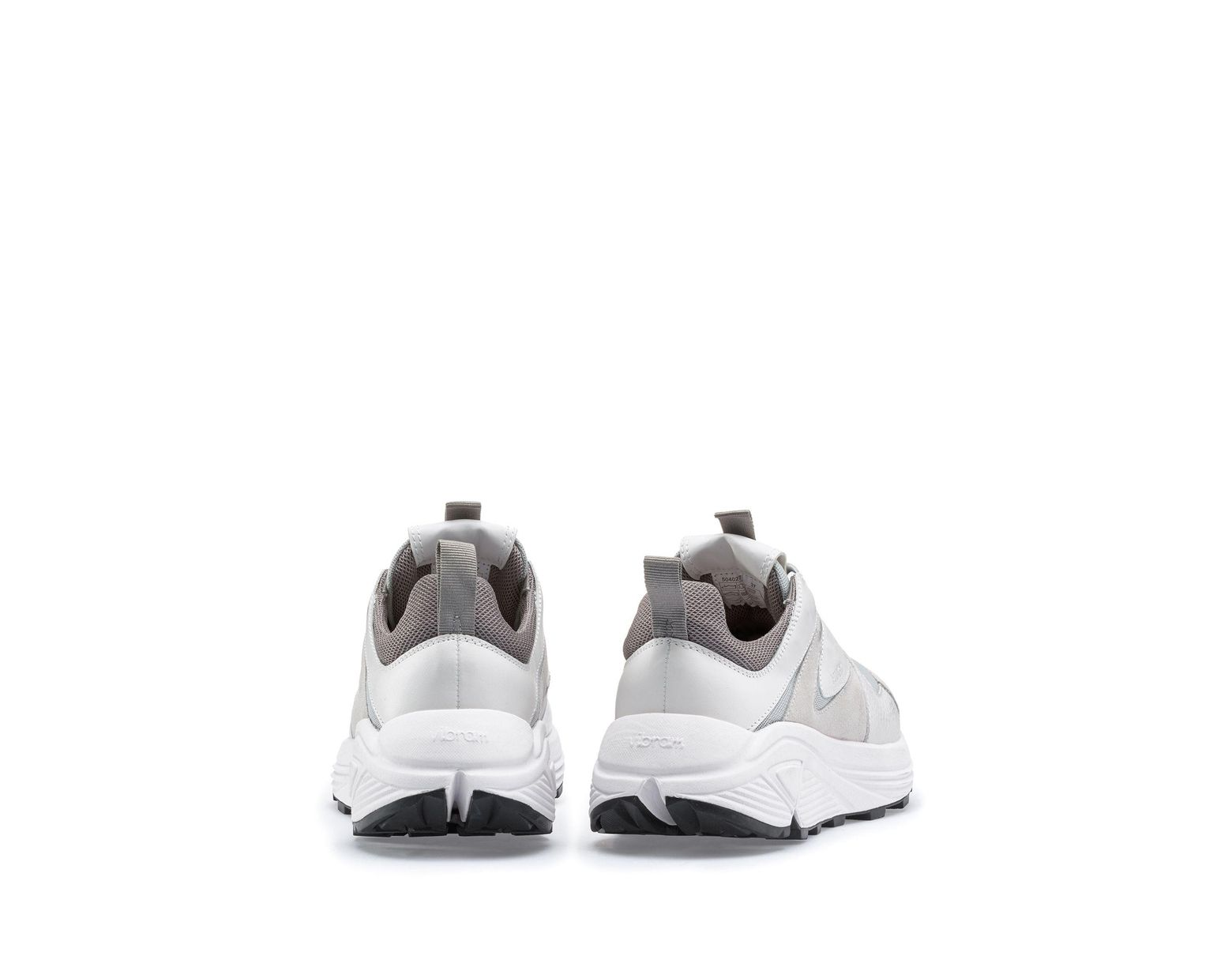 1f79f862c2 HUGO Chunky Running-style Trainers In Mesh, Suede And Leather in White -  Save 50% - Lyst