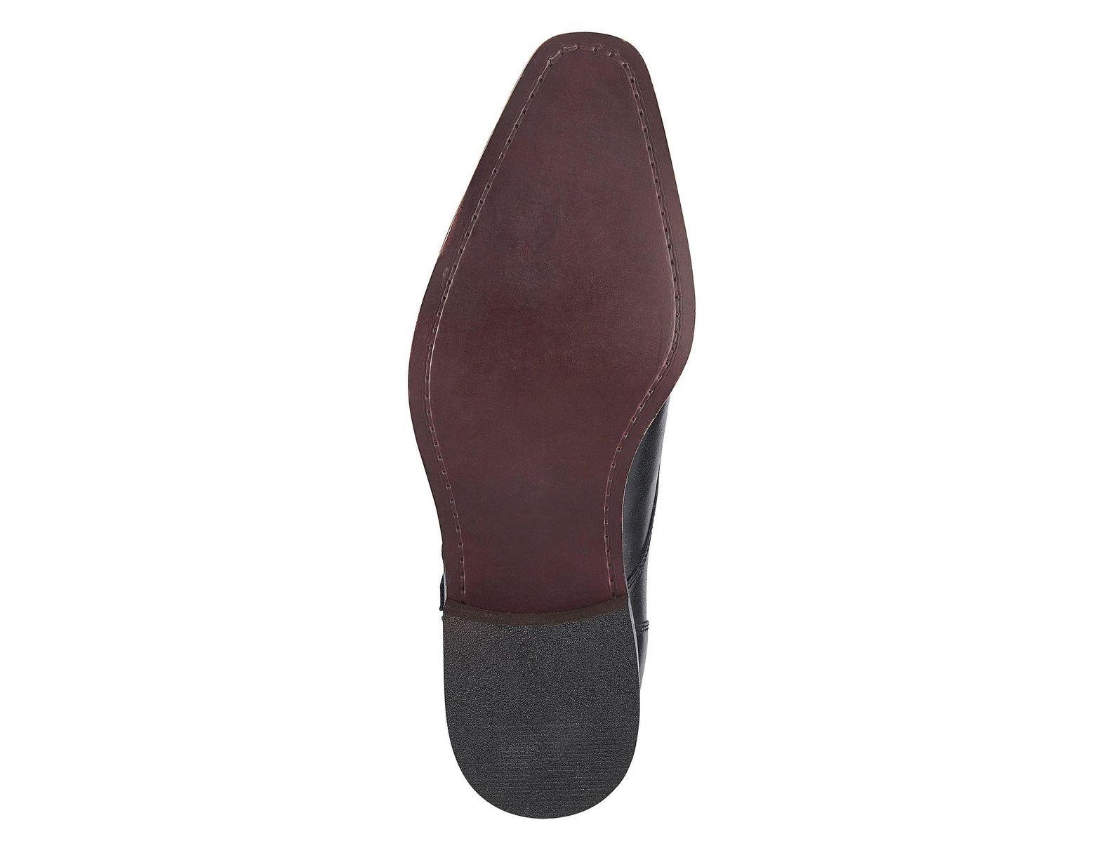 001afeb775162 Jacamo Premium Leather Double Monk Shoes in Black for Men - Lyst