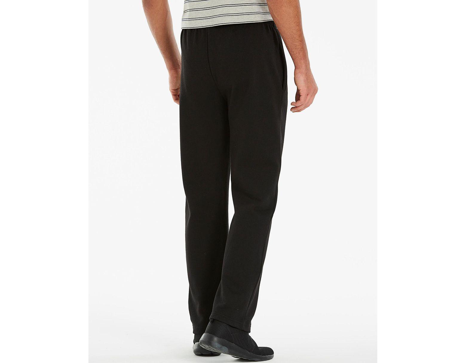 6eae566e3 Mitre Open Hem Jogging Bottom 29 Inch in Black for Men - Lyst