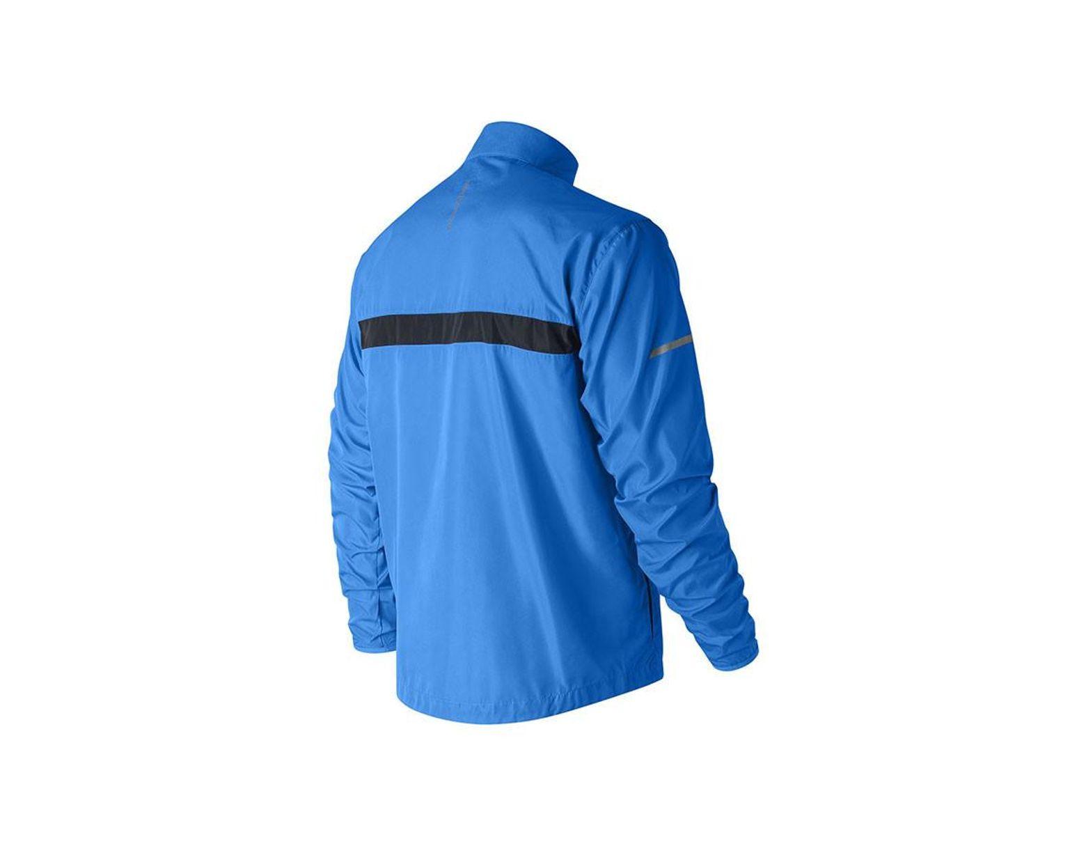 ca975d48b33ac New Balance Windcheater 2.0 Jacket in Blue for Men - Lyst