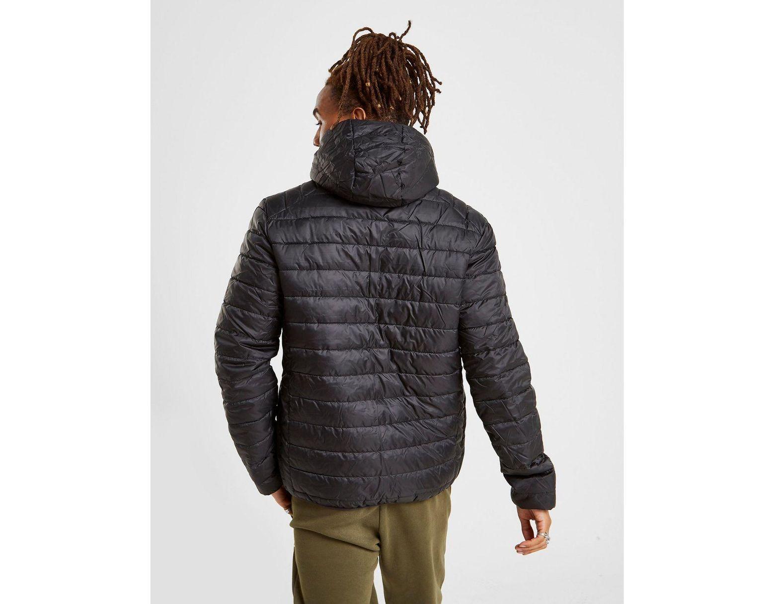 Men's Black Lerios Camo Reversible Jacket