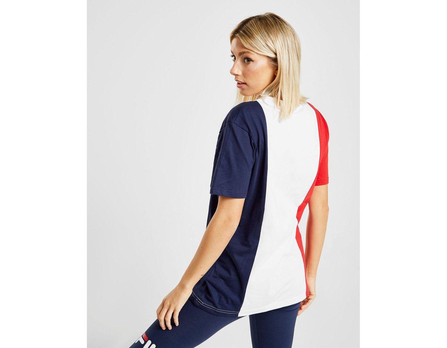 eff9983319ad Fila Panel Boyfriend T-shirt - Save 29% - Lyst