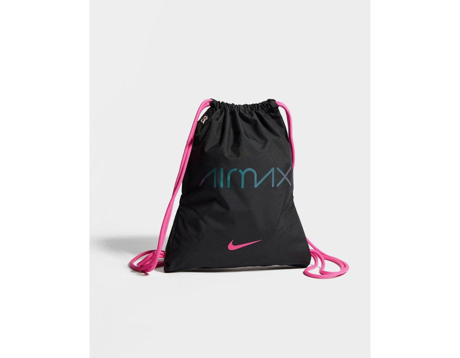 timeless design 51578 cc309 Nike Air Max Day Gymsack in Black for Men - Lyst