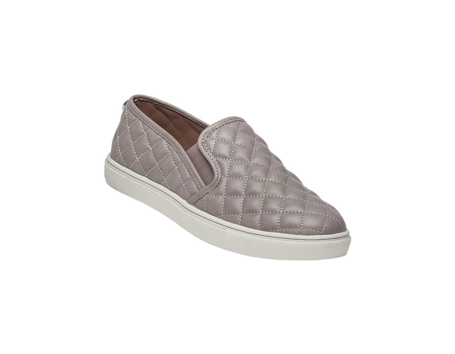 310c4a48906 Women's Ecentrcq Gray Quilted Slip-on Sneaker