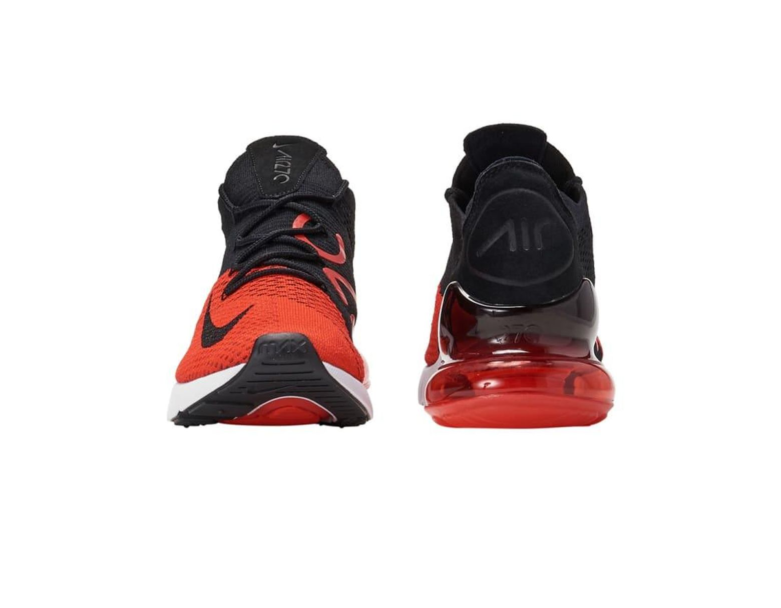 hot sale online 85e1f fe919 Men's Red Air Max 270 Flyknit