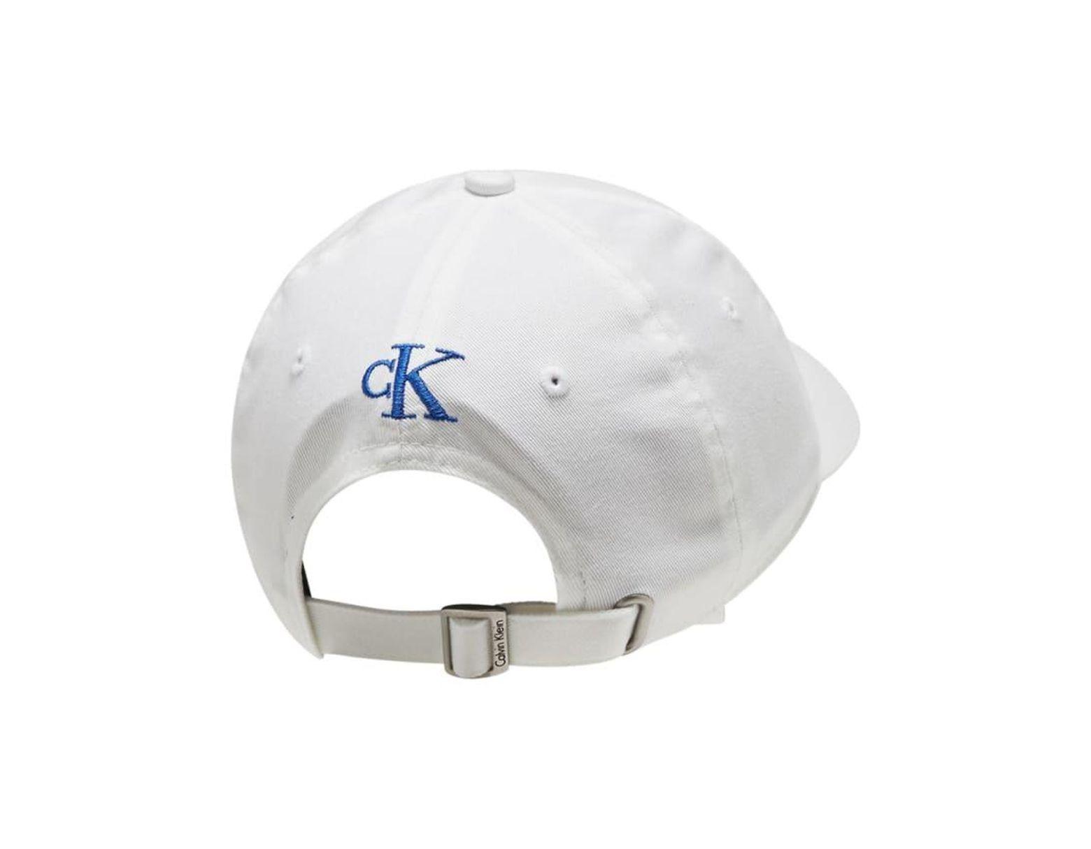 9d05f3b30 Men's Blue Pop Color Twill Logo Hat