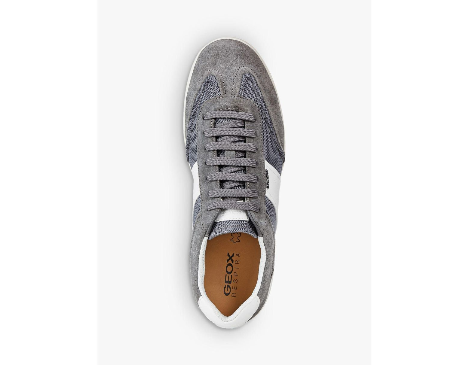 0d7ff0a9824 Geox Kennet Textile Detail Trainers in Gray for Men - Save 45% - Lyst