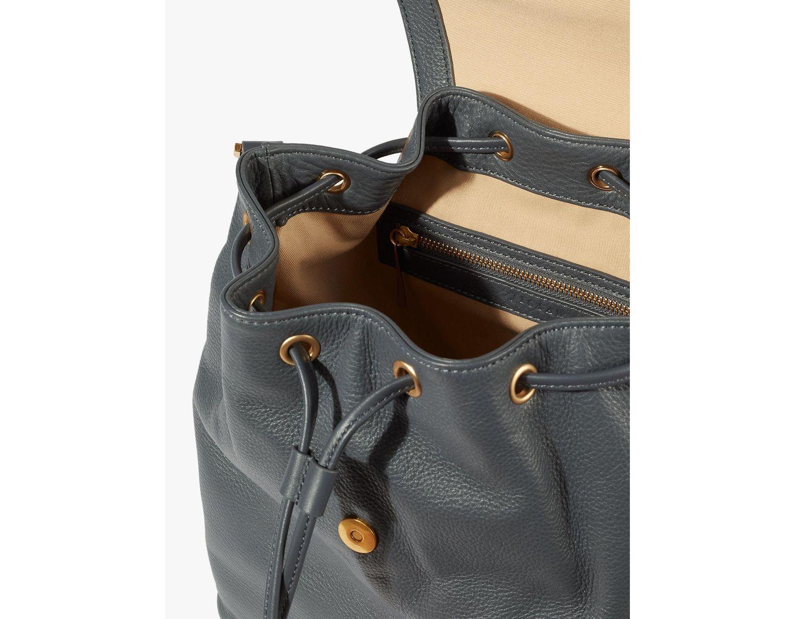 7bdc793de Jigsaw Brook 2-in-1 Leather Bag in Black - Lyst