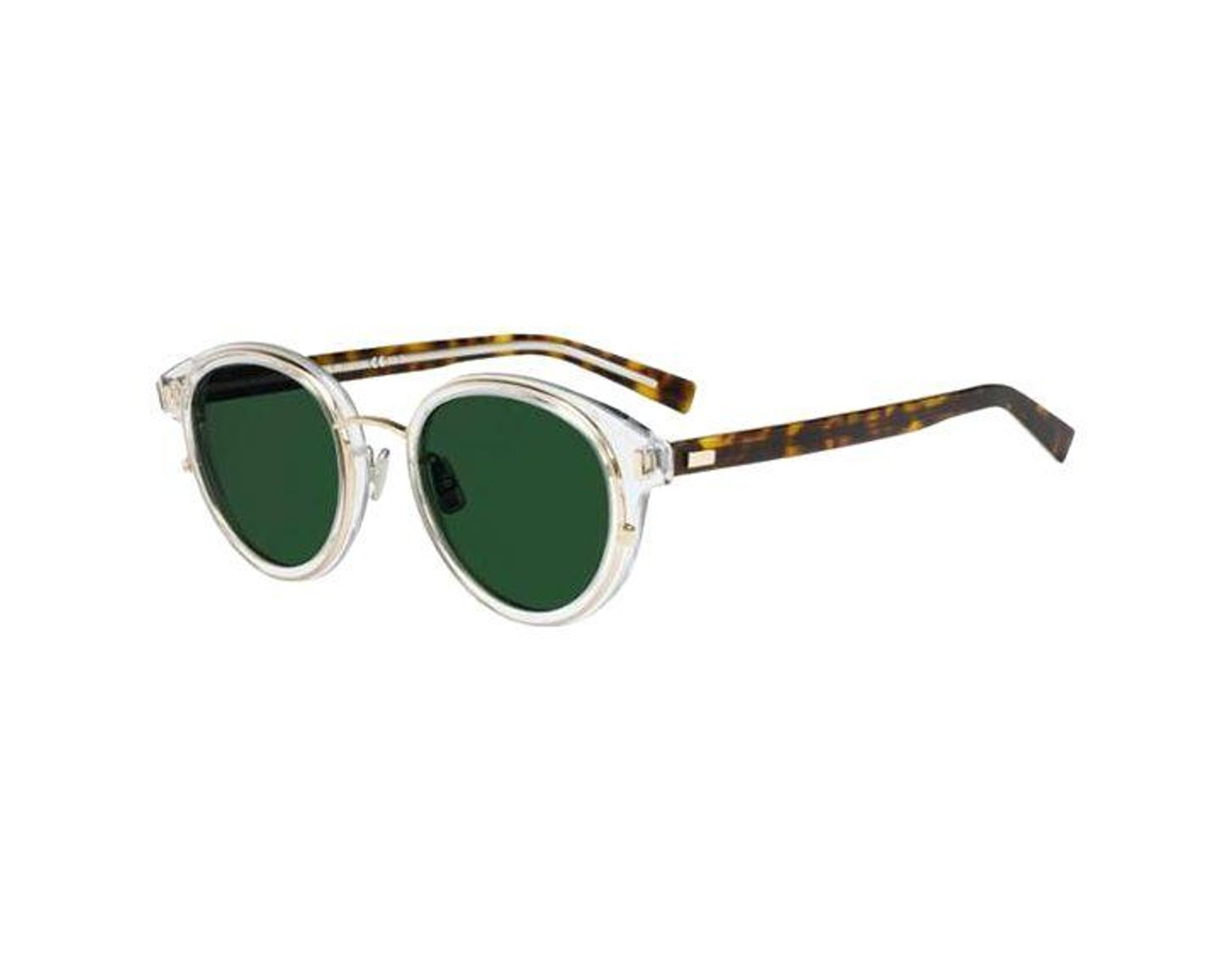 339bf97807ef Dior Blacktie2.0s K Oval Sunglasses in Green for Men - Lyst