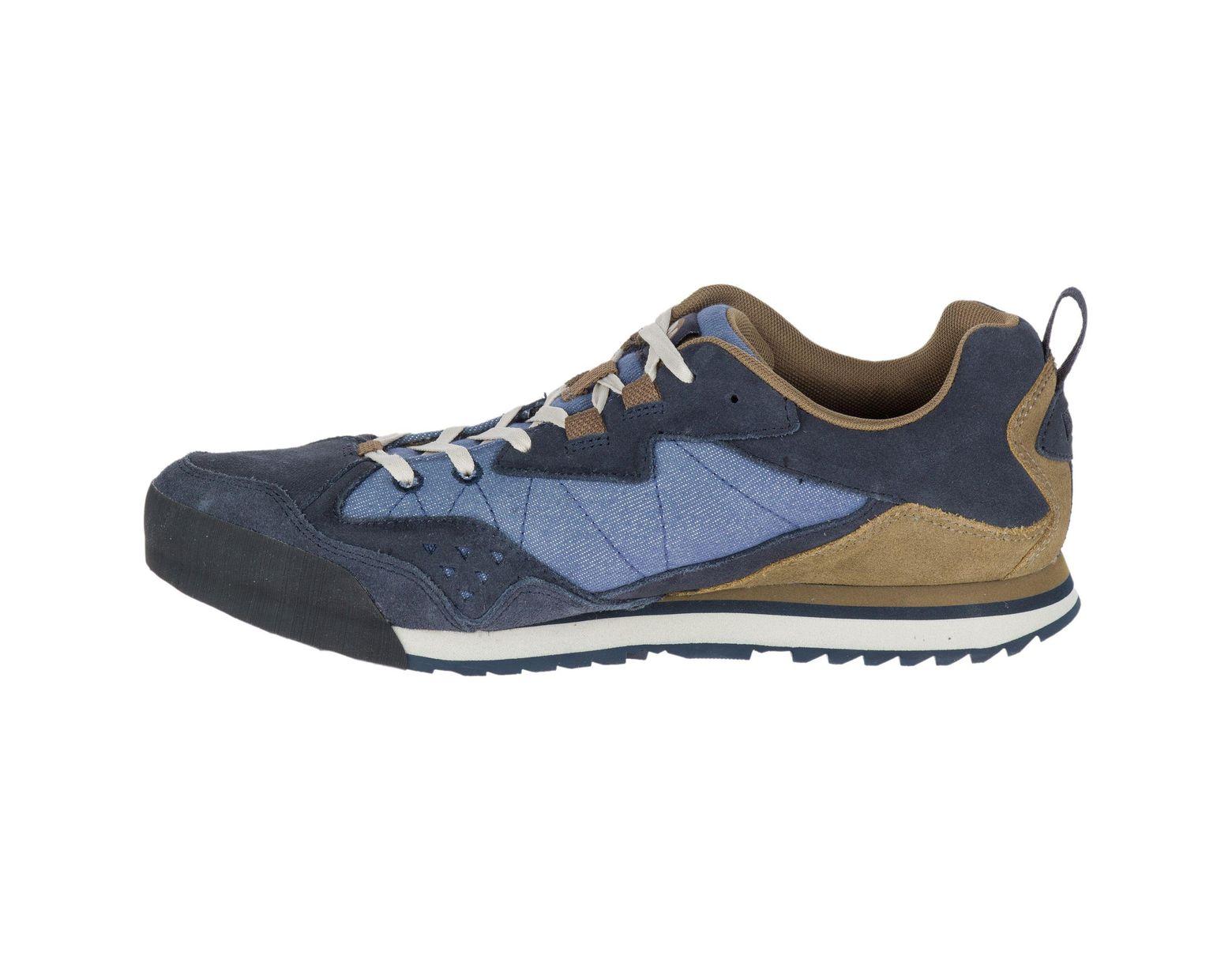 Merrell Burnt Rock Men's Shoes in Blue for Men Lyst
