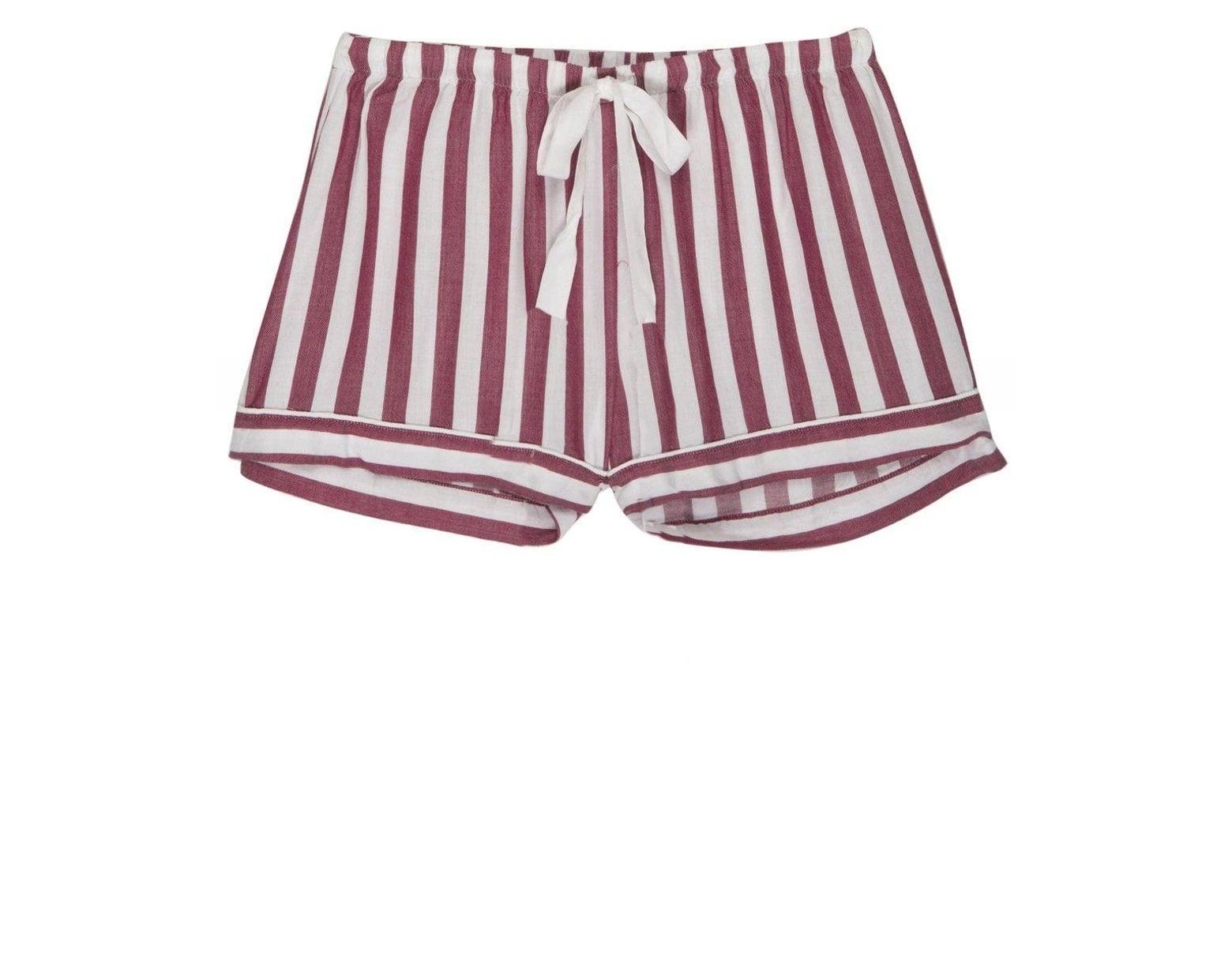 42841f617ac2f0 Rails Toledo Stripe Short Pyjama Set in Pink - Save 50% - Lyst