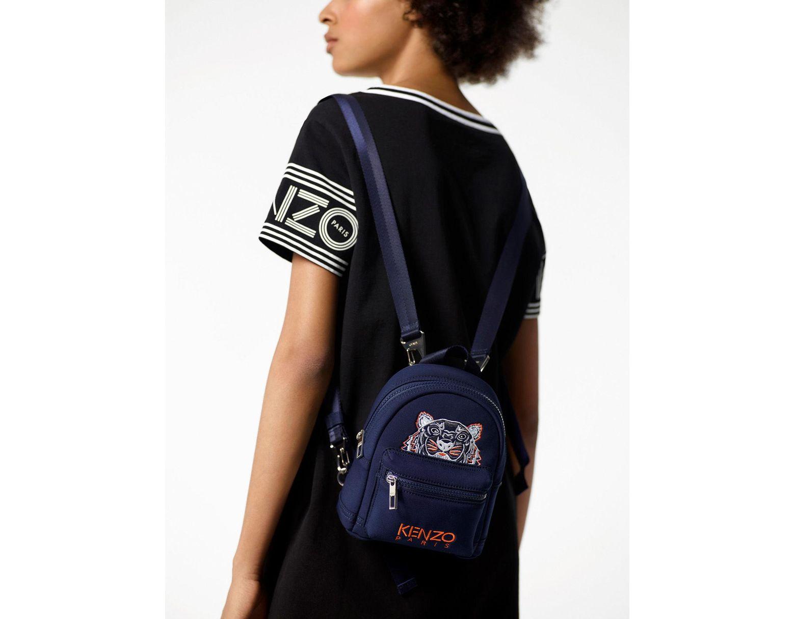 32464e6d7f2 Women's Blue Mini Neoprene Tiger Backpack
