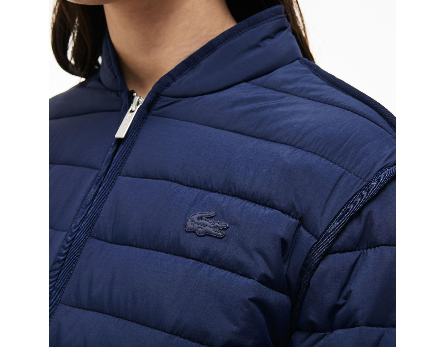 Soft Blue Women's Jacket Quilted Zippered Taffeta 0yNOmnv8Pw