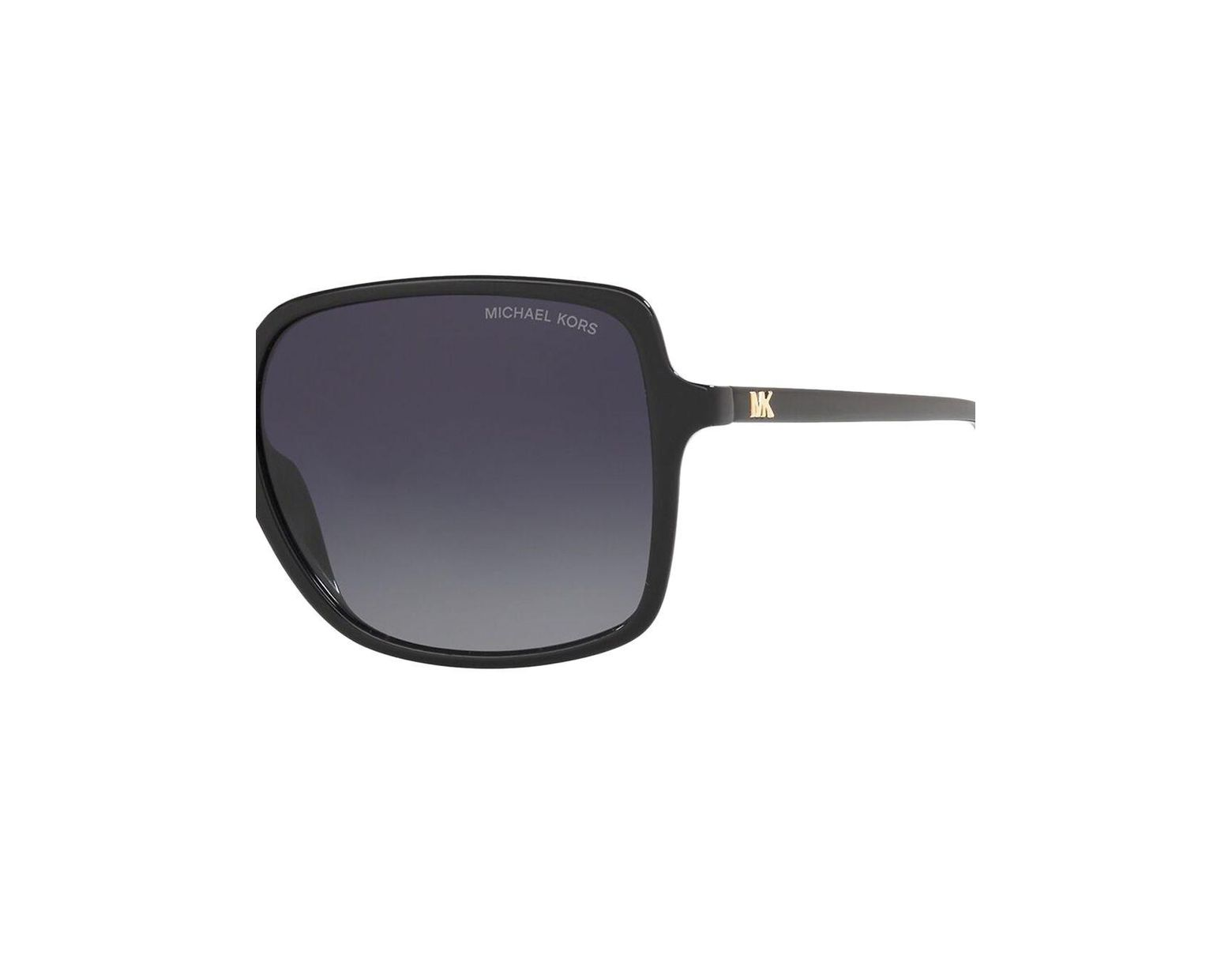 cd8f655e5a39 Michael Kors Glam Isle Of Palms 56mm Polarized Square Sunglasses in Black -  Lyst