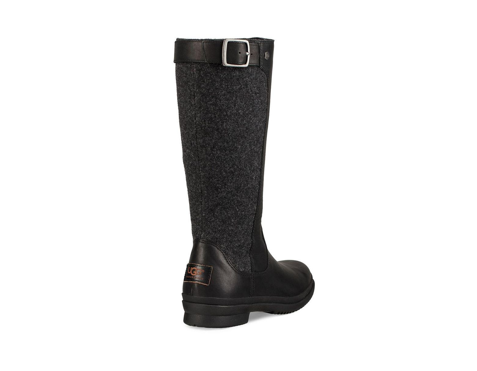 12fe2a3abb9 Black Women's Janina Mid-calf Dyed Fur Boots