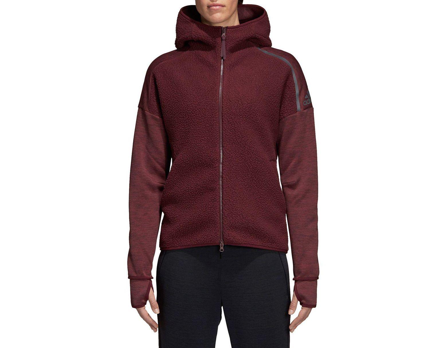 Zne Hoodie Women's Sherpa Purple BerodCx