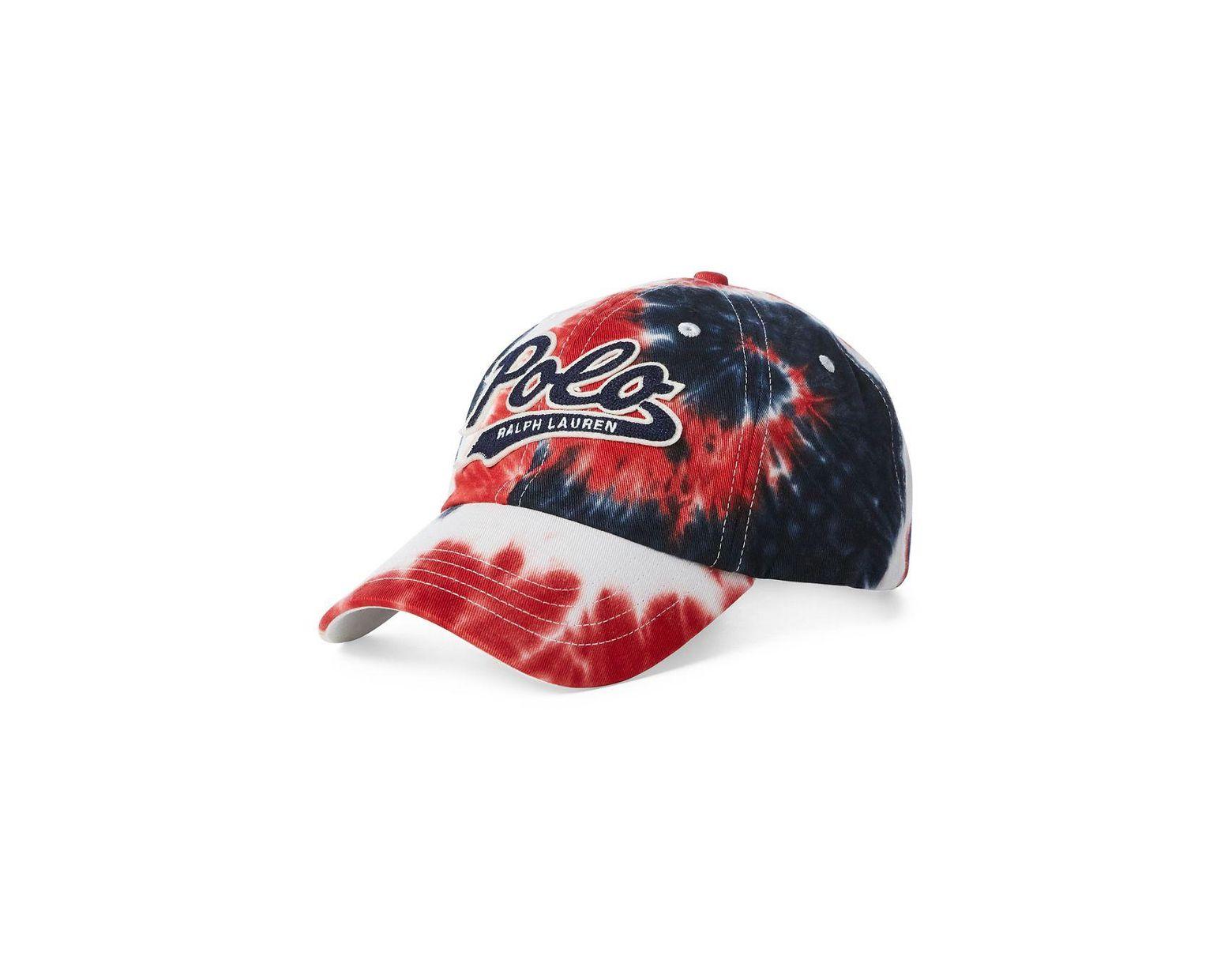 1fea8380fa Men's Red Big & Tall Tie Dye Hat