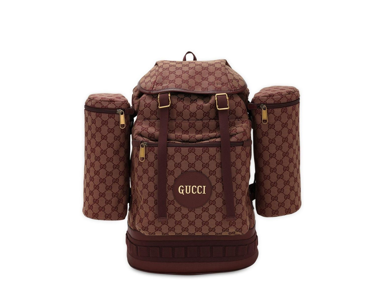 c2abb96ad Gucci Brown Canvas Backpack | The Shred Centre