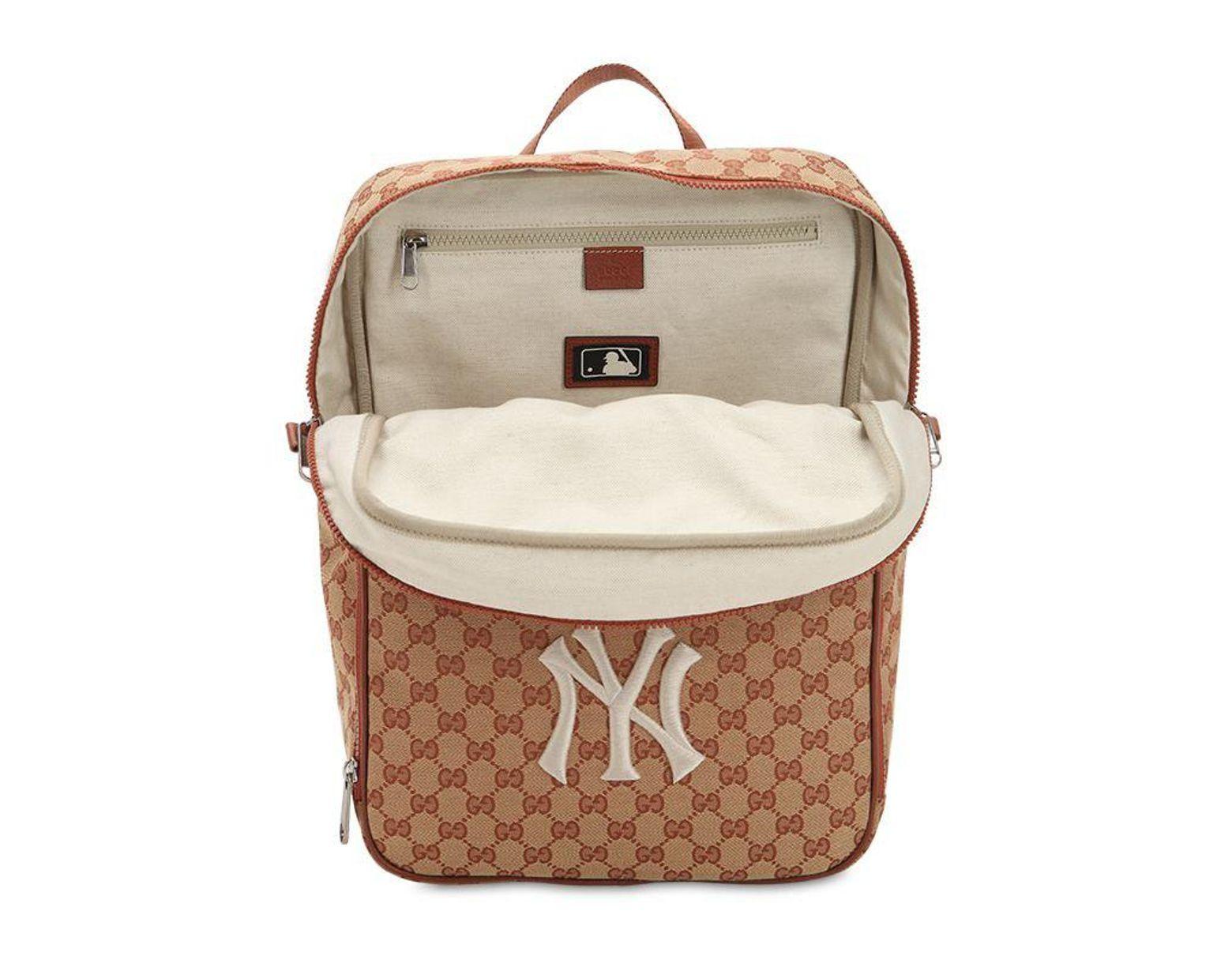 939cdd976a0f Gucci Original Gg Supreme Logo Backpack in Natural for Men - Lyst